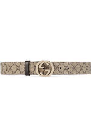 Gucci GG Supreme pattern belt - Neutrals