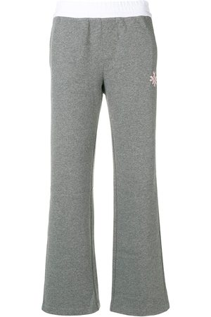 Mr & Mrs Italy Side stripe track pants - Grey