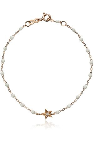GIGI CLOZEAU Women Bracelets - 18kt rose gold star diamond and rose gold bracelet