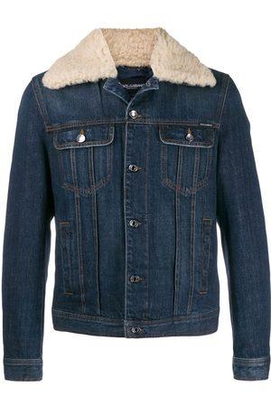 Dolce & Gabbana Trimmed denim jacket