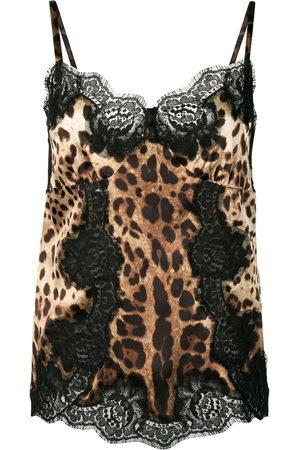 Dolce & Gabbana Leopard-print camisole top