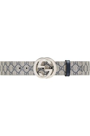 Gucci Belts - GG Supreme belt with G buckle
