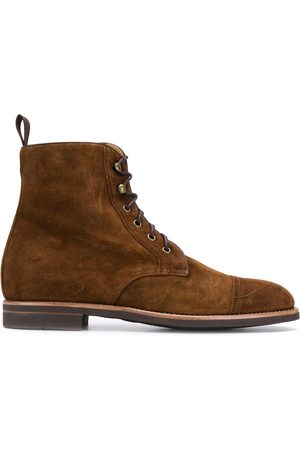 Scarosso Men Ankle Boots - Lace-up ankle boots