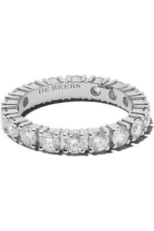 De Beers Jewellers Women Rings - Platinum DB Classic Full Eternity diamond 3mm band