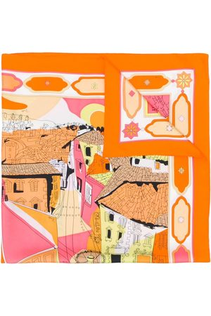 Emilio Pucci Women Scarves - Florence-print scarf