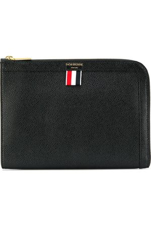 Thom Browne Pebbled mini gusset folio