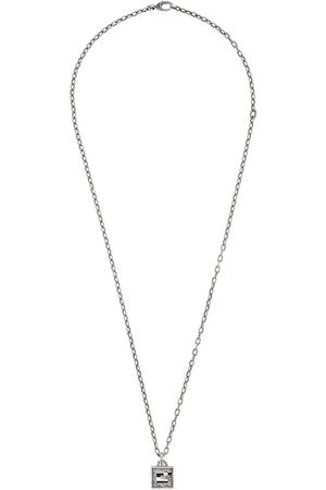 Gucci Women Necklaces - Necklace with Square G cross in