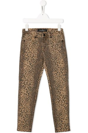John Richmond Junior Leopard print trousers