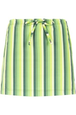 AMIR SLAMA Striped swimsuit