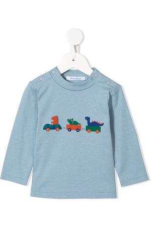 Familiar Dinosaur print crew-neck sweatshirt