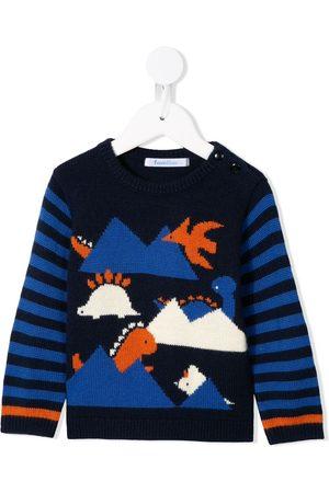 Familiar Knitted dinosaur jumper