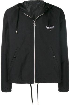 AMI Paris Men Sports Jackets - Logo patch windbreaker