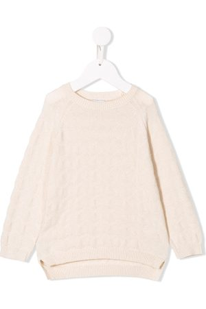 KNOT Zig Zag patterned jumper - Neutrals