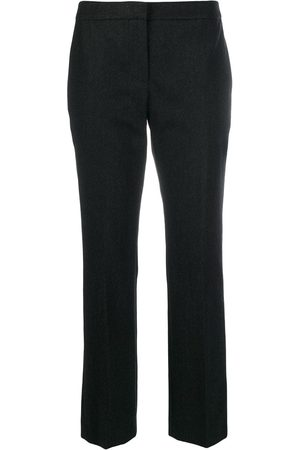 Alexander McQueen Cropped tailored trousers - Grey