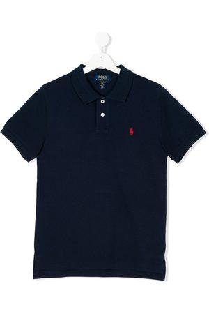 Ralph Lauren Polo Shirts - Teen logo patch polo shirt