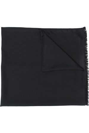 Saint Laurent Women Scarves - Signature fringed scarf