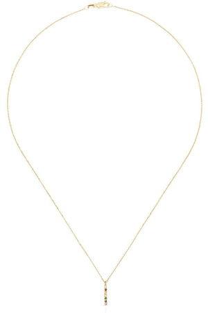 Mateo Women Necklaces - 14kt rainbow bar necklace