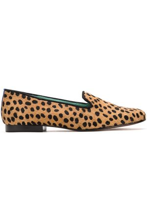 Blue Bird Animal print loafers - Neutrals