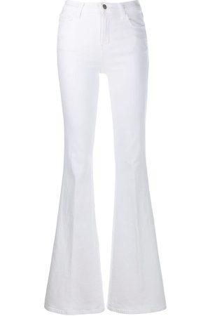 J Brand Belted straight leg jeans