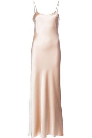 Voz Liquid Slip dress - Neutrals