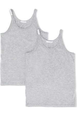 Dolce & Gabbana 2 pack tank top - Grey