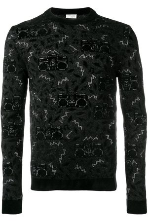 Saint Laurent Knit jacquard jumper