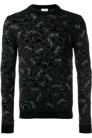 Saint Laurent Knit jacquard jumper