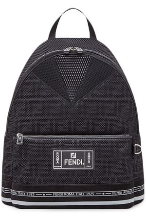 Fendi Men Rucksacks - Large FF motif backpack