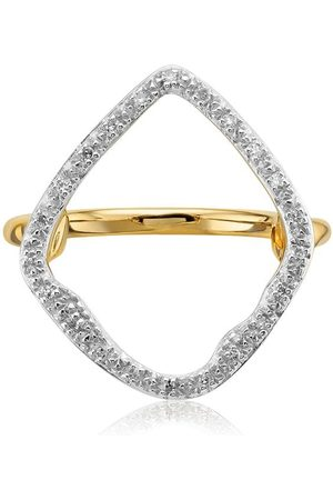 Monica Vinader Riva Hoop Cocktail Diamond ring