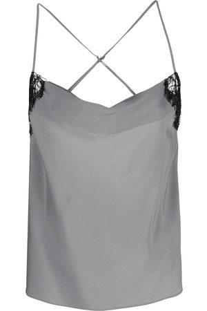 Kiki de Montparnasse Women Camisoles - Cowl-neck camisole top