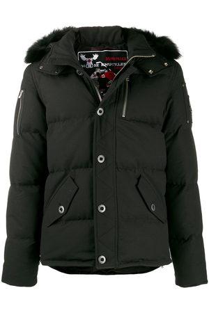 Moose Knuckles Men Puffer Jackets - Hooded padded coat