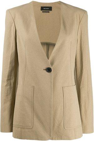 Isabel Marant Women Blazers - Link jacket - NEUTRALS