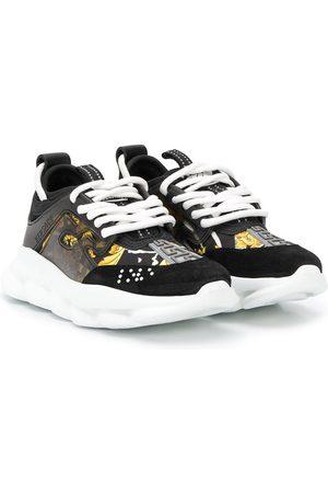 VERSACE Girls Sneakers - Barocco print sneakers