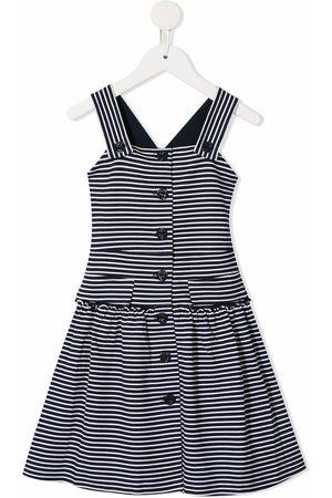 Emporio Armani Striped flared dress