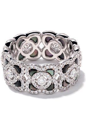 De Beers Jewellers Women Rings - 18kt Enchanted Lotus Mother-of-Pearl and diamond ring