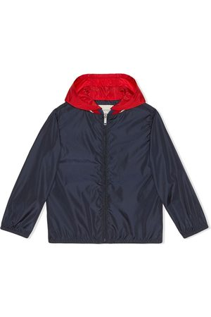 Gucci Boys Jackets - Children's nylon jacket with Gucci logo