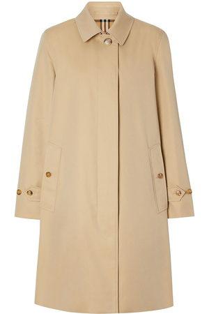 Burberry Gabardine car coat - Neutrals