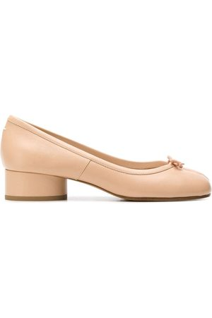 Maison Margiela Tabi ballerina shoes - Neutrals