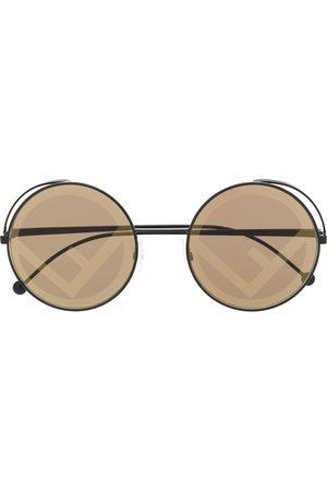 Fendi Fendirama round sunglasses