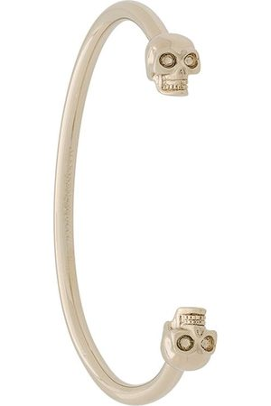 Alexander McQueen Women Bracelets - Twin skull bracelet