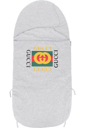 Gucci Printed logo nest - Grey