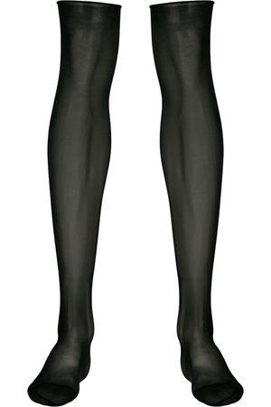 MAISON CLOSE Sheer knee length stockings