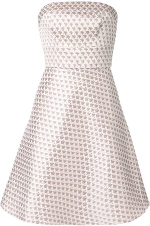 Bambah Women Party Dresses - Short geometric pattern dress