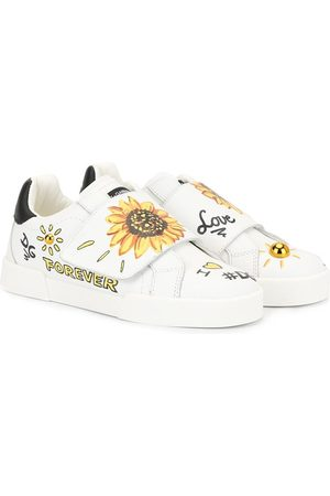 Dolce & Gabbana Sunflower print sneakers