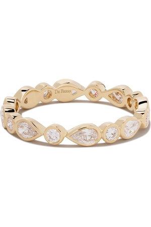 De Beers Jewellers Women Rings - 18kt Petal diamond band