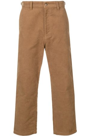Ami Worker straight fit trousers - NEUTRALS