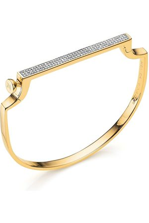 Monica Vinader Signature Thin Diamond bangle