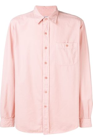 Ami Men Shirts - Classic-wide Fit Shirt With Buttoned Chest Pocket