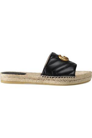 Gucci Women Espadrilles - Leather espadrille sandal