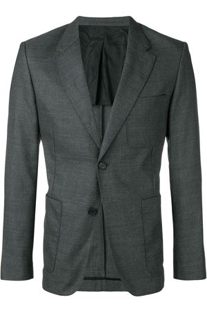 Ami Men Blazers - Half-Lined Two Buttons Jacket - Grey